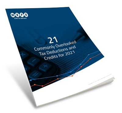 21 Commonly Overlooked Tax Deductions and Credits for 2021